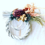 2018年12月 表参道&飯田1dayレッスン 『お正月飾り(16cm)』作り