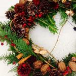 2013年 11月 クリスマスリース