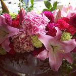 ブライダル メイン装花