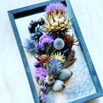 2021年8月 オンライン & 東京 表参道&長野 飯田 1dayレッスン『アーティチョークの植物標本』作り