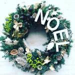 2017年11月 表参道&飯田1dayレッスン 『フレッシュグリーンのクリスマスリース』