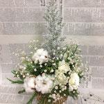ホワイトクリスマスアレンジメント
