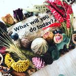 2017年10月 表参道&飯田1dayレッスン 『秋のボタニカルプレート』