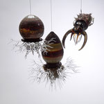 Cuttlefish and Jellies Hanging Sculptures