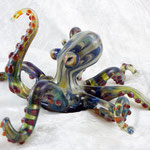 Octopus borosilicate flamework
