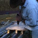 Bau des Ringanker.