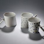 Feines schräges Porzellan von Nela Havlickova