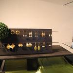 Sabine Peiger aus Innsbruck zeigt ihr Schmuckdesign  aus Gold und Silber