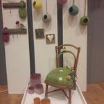 Elisabeth Clemens zeigte erstmalig in bei KUNST HANDWERK DESIGN ihr außergewöhnliches Wohndesign aus Filz