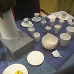 Porzellanschalen-und Gefäße  der tschechischen Keramikkünstlerin Nela Havlickova