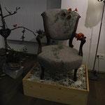 gefilzte alte Stühle von Elisabeth Clemens aus Kärnten