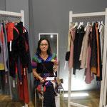 Textildesignerin Susanne Tuulikki Riecker präsentiert textile Unikate und textilen Schmuck
