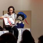"""Melanie Laibl, Kinderbuch-Autorin, las aus ihrem Buch """"Prinzessin Hannibal"""" und erfeute mit wunderbaren Kinderbüchern"""