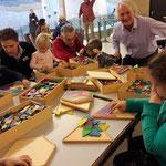 Mandala-Legespiele von Heinz Pamminger sind beliebt bei jung und junggebliebenen
