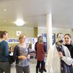 Eröffnungshighlight   am Sa um 10.00 wieder mit Manuela Linshalm und ihrer Klappmaulpuppe Mathilde