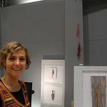 Holztrumm von Ruth Rindlisbacher-Treibholz-Figurales