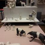 Porzellantiere und Skurriles von Margit Russnig, Keramikkünstlerin aus Wien