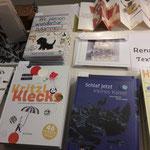 Büchertisch von Renate Habinger