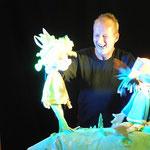 Stefan Karchs Figurentheater wird wieder die Kinderherzen erfreuen ....