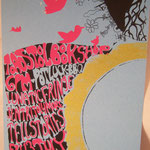 Tell Stories / Jentri Jollimore  hand screened and designed by eric