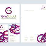 www.gilaschool.de – Logo – Visitenkarten – Briefpapier