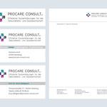 www.procare-consult.com – Logo – Visitenkarten – Briefpapier
