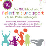 GilaSchool – Mottoparty in der GilaSchool feiern