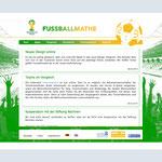 www.fussballmathe.de – News für groß & stark KOMMUNIKATION