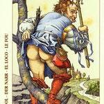 Le Fou - Le tarot de Dürer