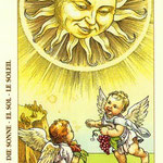 XIX Le Soleil - Le tarot de Dürer