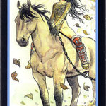 Tarot Manara - Érotique - Cavalier d'Air