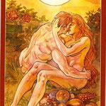 Tarot of Sexual Magic - Érotique - XIX Le Soleil