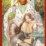 Tarot of Sexual Magic - Érotique - Roi de Coupes