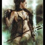 Royo Dark Tarot - Érotique - 5 d'Épées