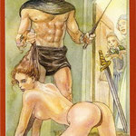 Tarot of Sexual Magic - Érotique - Chevalier d'Épées