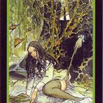 Tarot Manara - Érotique - Roi de Terre