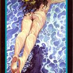 Tarot Manara - Érotique - 3 d'Eau