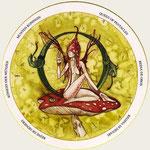 Reine de Deniers - Le tarot du Cycle de la vie