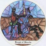 Chevalier d'Épées - Le tarot des Cloîtres
