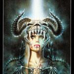 Royo Dark Tarot - Érotique - As de Bâtons