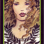 Tarot Manara - Érotique - As de Terre