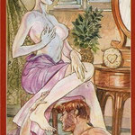 Tarot of Sexual Magic - Érotique - Reine de Deniers