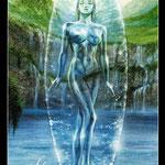 Royo Dark Tarot - Érotique - XIV Tempérance