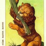 As de Bâtons - Le tarot de Dürer