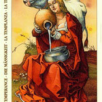 XIV Tempérance - Le tarot de Dürer