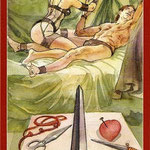 Tarot of Sexual Magic - Érotique - As d'Épées