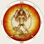 XIX Le Soleil - Le tarot du Cycle de la vie