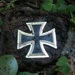 "Very pleased ""Iron Cross"" with a non-magnetic core."