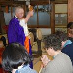 平成26年1月 慶国寺 写経会 新年祈祷