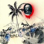 Serie Une histoire tropicale, técnica mixta sobre papel, 2010